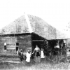 Macpherson family home in Brookfield about 1850